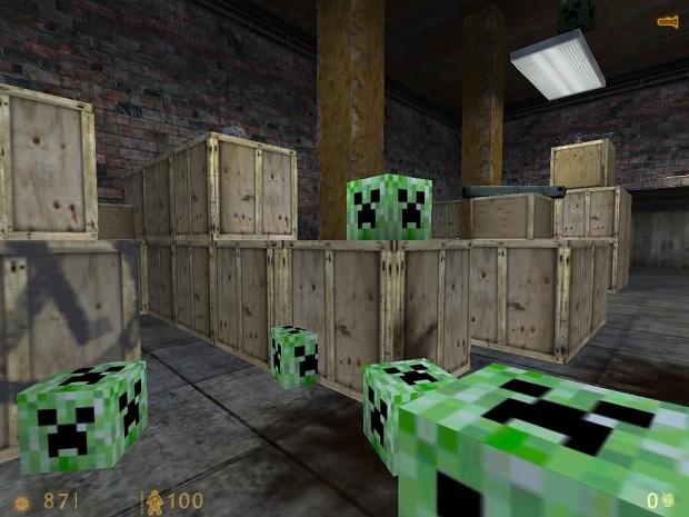 Creeper bomb for Satchel