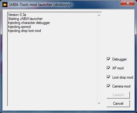 JABIA-Tools mod launcher