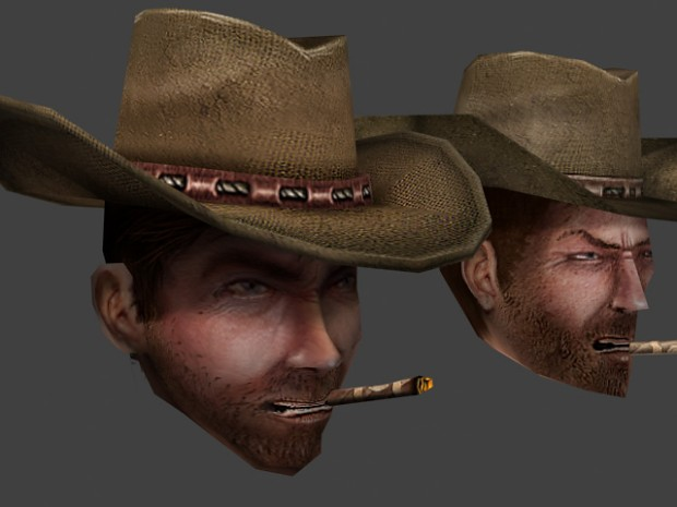 WIP Smoking Guns playermodel