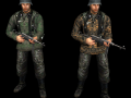 German Oak Leaf/Plantane Camo Skins (SS insignias)