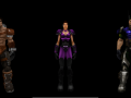 Beta skins for Playstation 2 Characters