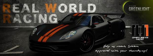 Real World Racing Open Beta Demo