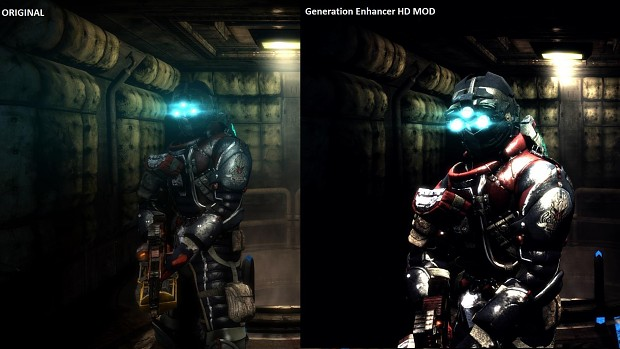 Dead Space 3 Generation Enhancer HD Mod engine
