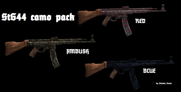 StG44 camo pack (HD)