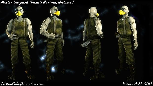 Hartwin - UT3 Character Model