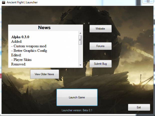 Launcher w/ Patcher