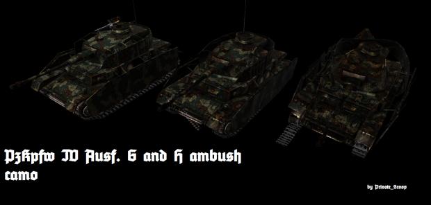 PzKpfw IV Ambush pattern skin