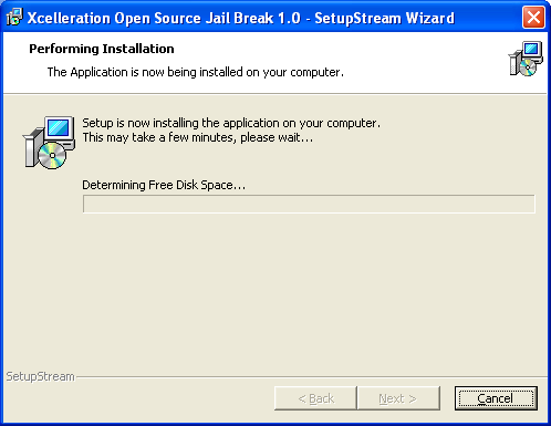 Xcelleration Open Source Jail Break 1.0