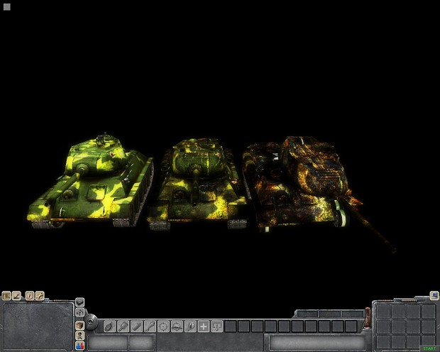 T34 USSR camo add-on
