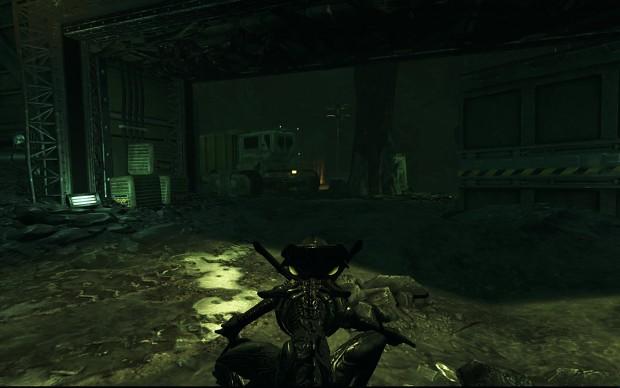 AvPGalaxy - Clean Alien HUD