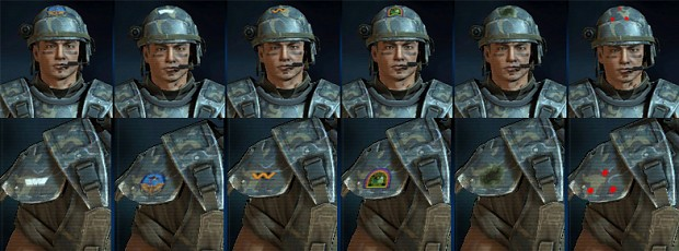 AvPGalaxy - Custom Helmet & Shoulder Emblems