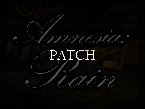 Version 1.0 Patch