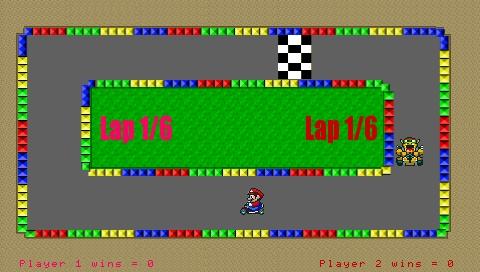 Mario Kart PSP 4.8