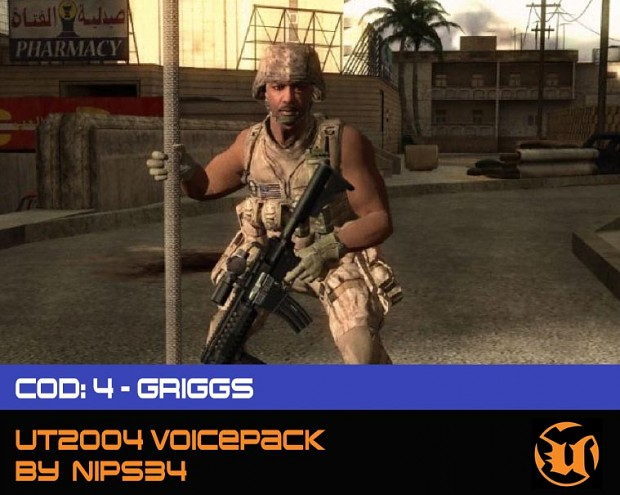 CoD 4: US - Griggs Voice Pack