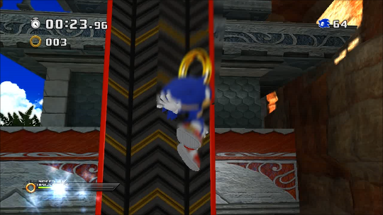Sonic 3Derations Green Eyes (Dreamcast) Era.