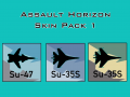 Assault Horizon Skin Pack 1
