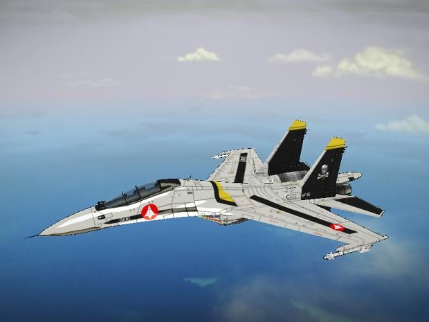 UN Spacy Su-30
