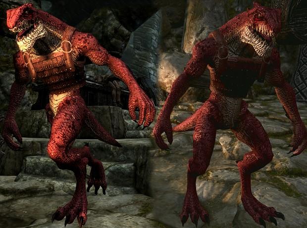 Lizardman - Werewolf Replacer file - SkyMoMod V13 for ...