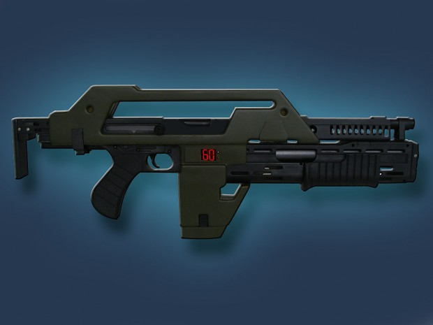 Traditional M41A Pulse Rifle by Die Varieties