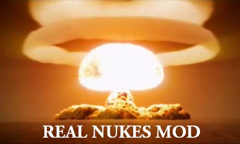 Realistic Nukes Mod (Version 1.46)