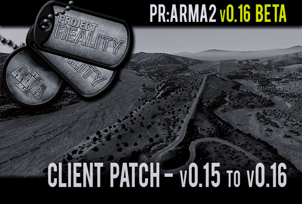 Project Reality: ARMA 2 v0.15 to v0.16 BETA Patch