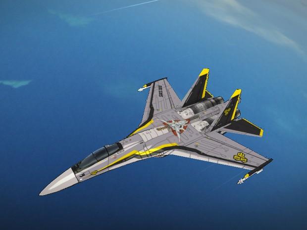 Su-35S Skull One