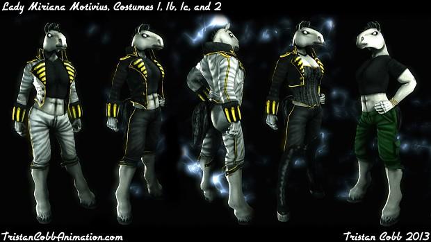 Miriana - UT3 Character Model