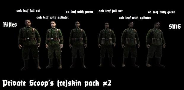 Private Scoop's (re)skin pack 2