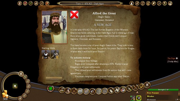 Medieval: Conquest 2.5.4.2 for Civ4 Colonization