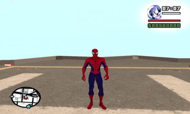 Ultimate Spiderman Ped V2