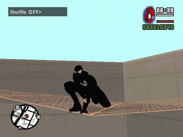 Symbiote Spidey Gimp Suit