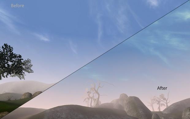 Joyful Morrowind Sky Pack 1.09