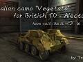 """Italian camo """"Vegetato"""", for British TD - Alecto"""