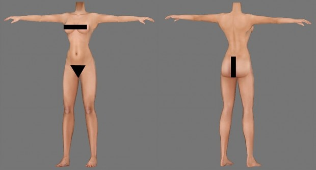 Higher Resolution Better Body Females