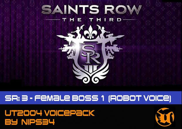 Saints Row 3: Female Boss (Robot Voice)