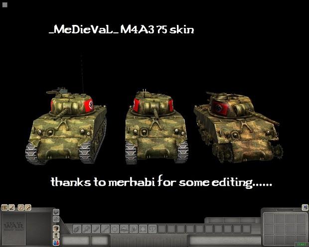 Sherman M4A3 75 skin