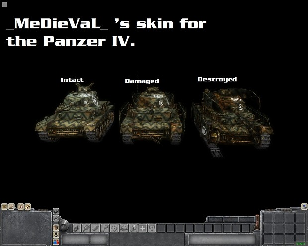 Panzer IV Captured skin