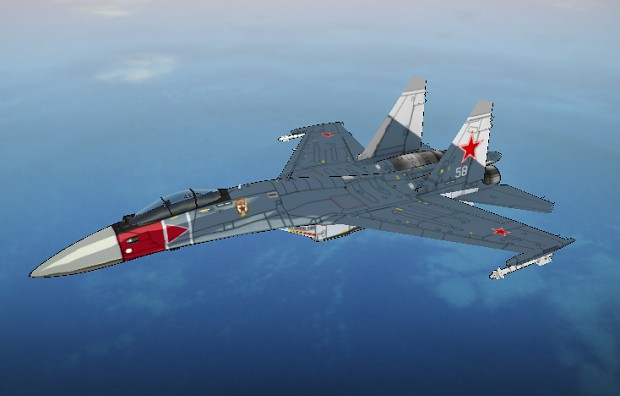 Hammer Squadron Su-35S skin
