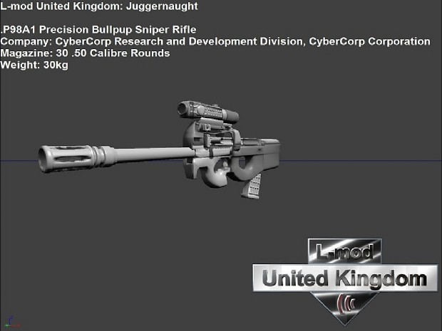 P98A1 from L-mod United Kingdom's: Juggernaut