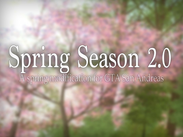 Spring Season 2.0 (manual installation)
