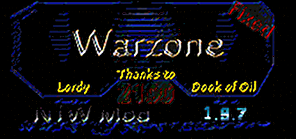 Warzone 2100 - New Team War Mod | 1.9.7 | English