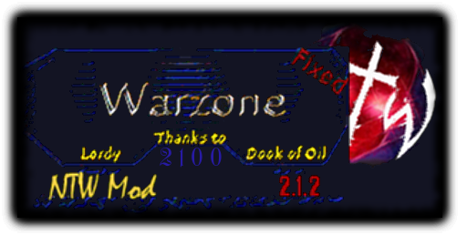 Warzone 2100 - New Team War Mod   2.1.2   English
