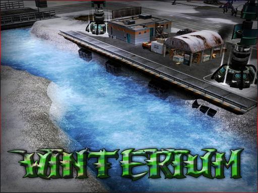 Winterium map 1v1vCreeps