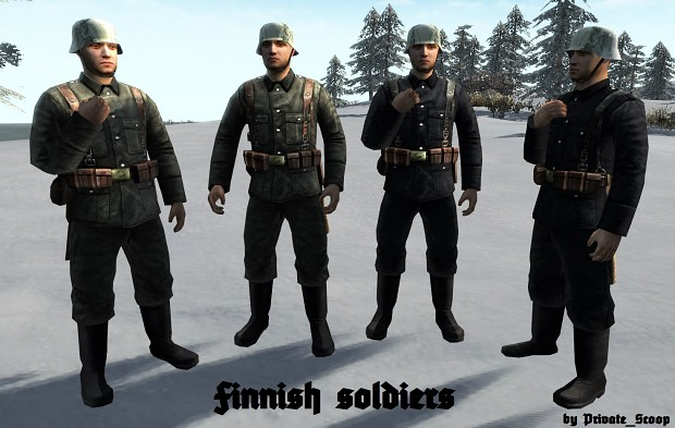Finnish soldier skin (HD)
