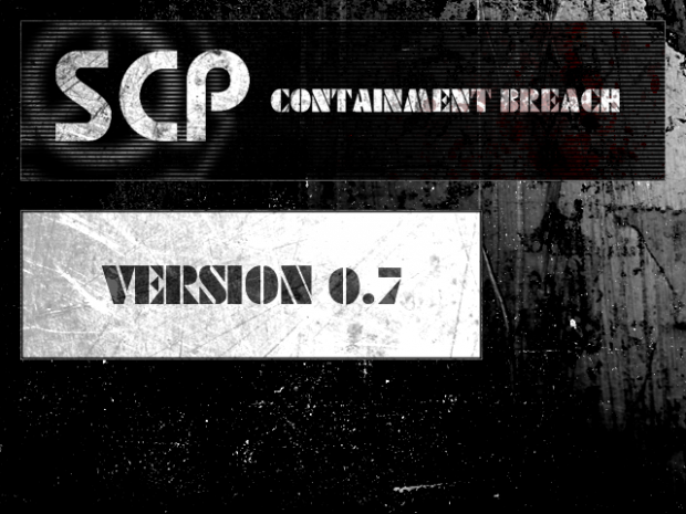 SCP - Containment Breach v0.7