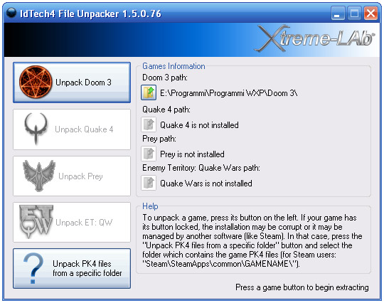 IdTech4 File Unpacker 1.5