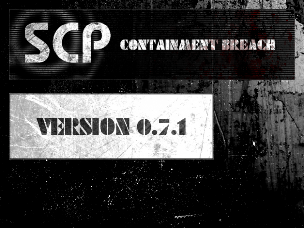 SCP - Containment Breach v0.7.1