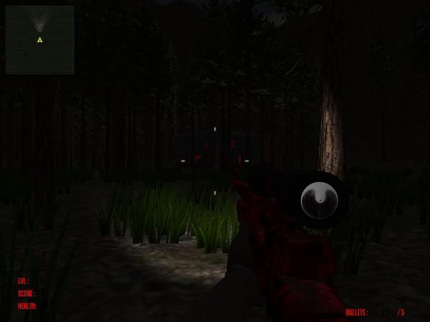 Evil aRising - Map 1