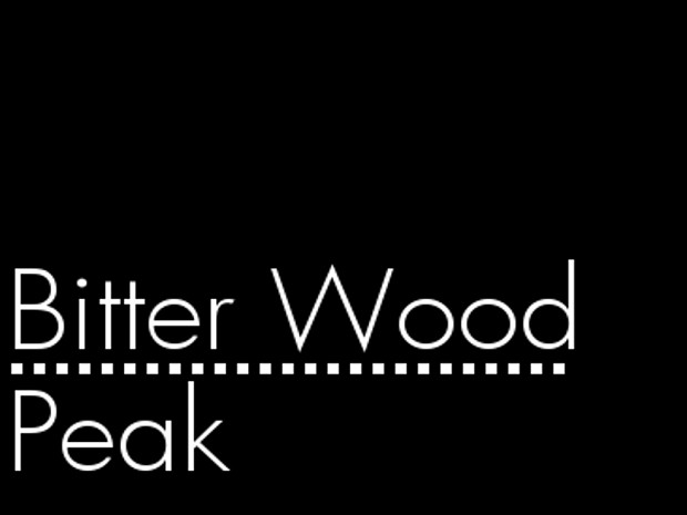 Bitterwood Peak - Optimized