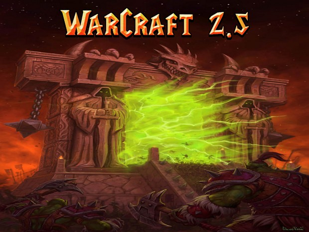 Warcraft 2.5 V0.9n Map pack FIXED Version